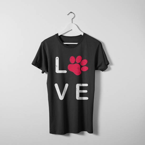 t-shirt braandket band t-shirt fashion clothes dog gifts for dogs lovers