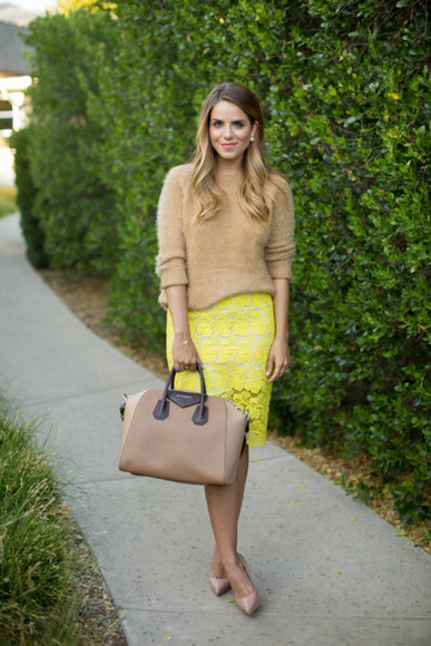 skirt jewels blogger bag shoes gal meets glam