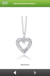 jewels,jewelry,necklace,silver,heart jewelry,genuine diamond heart necklace,genuine diamond heart