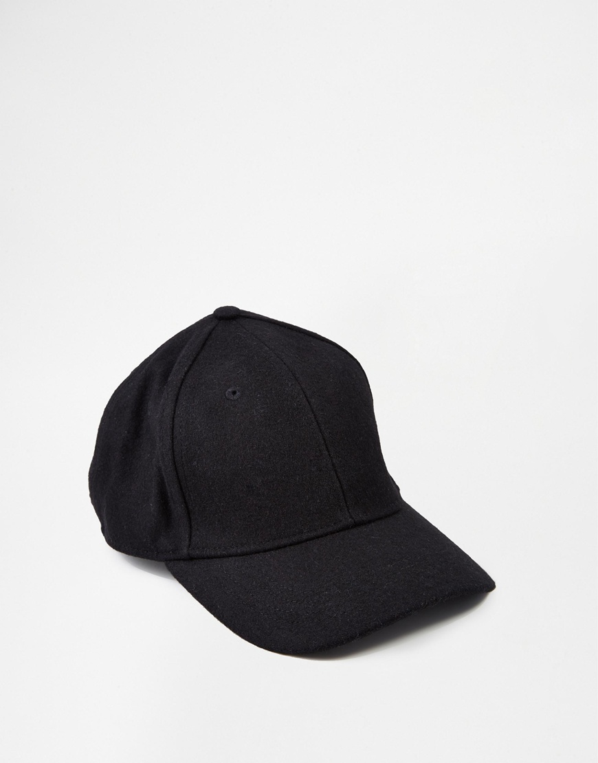 Whistles Felt Baseball Cap at asos.com
