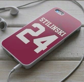 phone cover teen wolf stiles stilinski