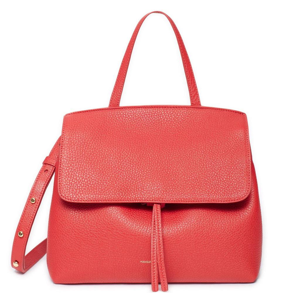 Mansur Gavriel Tumble Mini Lady Bag - Flamma