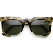 sunglasses,square,squared frame glasses,tortoise shell,tortoise shell sunglasses