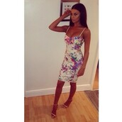 dress,floral dress,white dress,bodycon dress,midi dress,flowers,purple,floral white dress,flowery tight dress