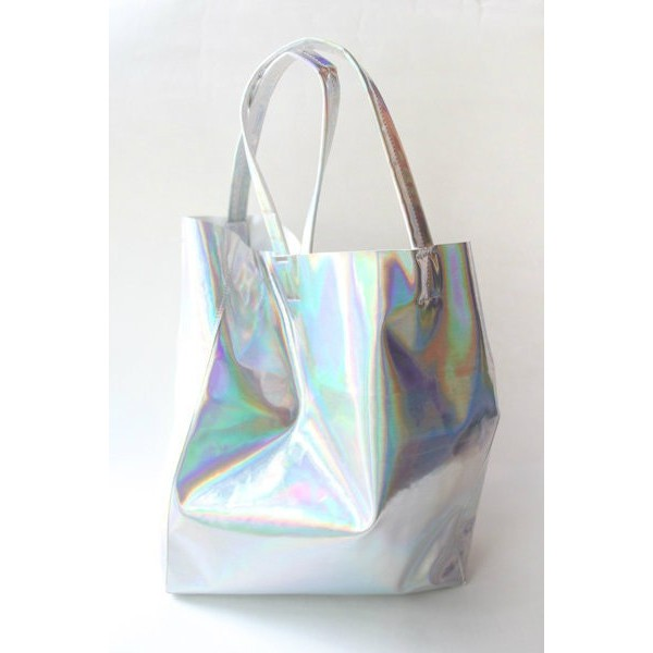 Holo chic shopping bag