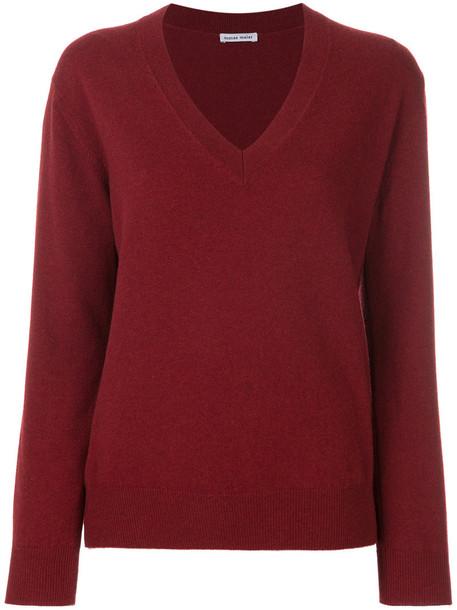 Tomas Maier sweater women red