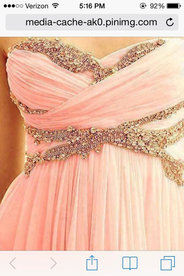 dress prom beading long dress