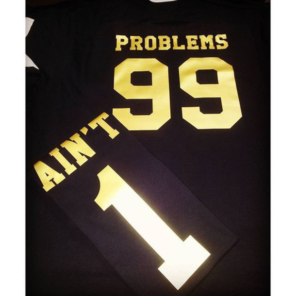 5e836306a2 Shoppable tips. Best tips. advertising. $29. Tees2peace. etsy.com. 99  Problems Ain't 1 Couples T-Shirt ...