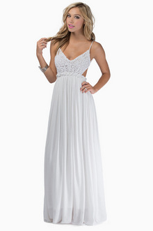 Everdeen Crochet Maxi Dress - Tobi