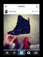 shoes,sneakers,wedge booties,wedge sneakers