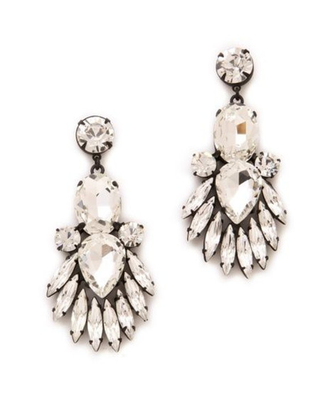 diamonds party jewels earrings statement statement earrings