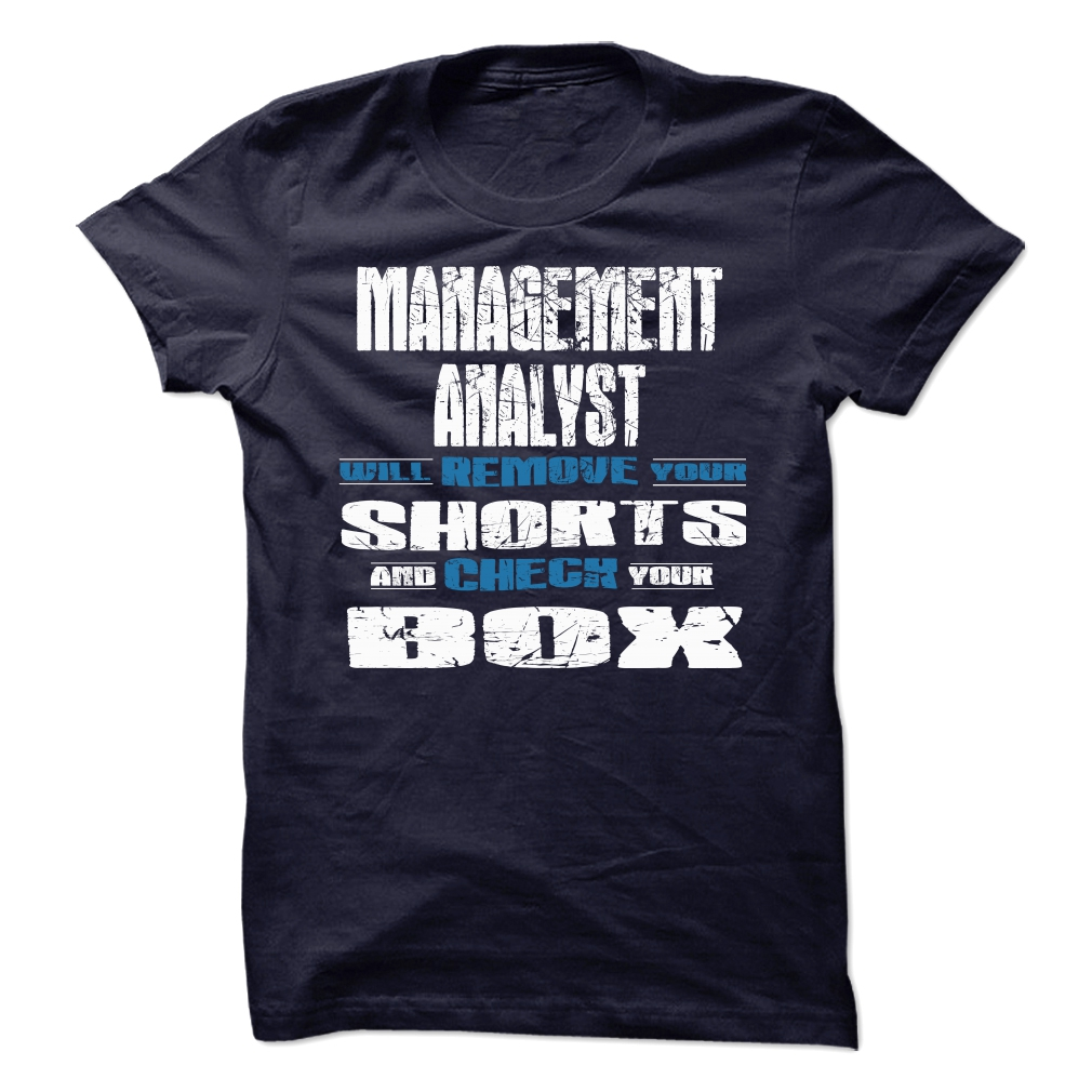 Management Analyst Check T-Shirt & Hoodie
