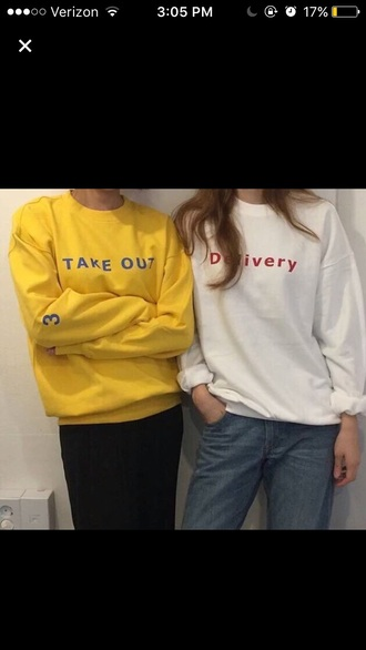 sweater delivery aesthetic aesthetic tumblr aesthetic grunge yellow pretty urgent tumblr please help!!