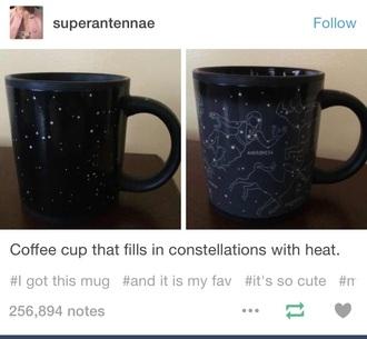 home accessory mug stars cup galaxy print galaxy mug cup
