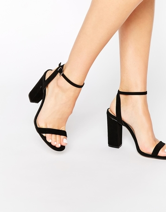 shoes black black shoes pumps heel asos