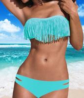 swimwear,bikini,biki,girl,girly,pretty,beautiful,dope swimwear,blue swimwear,bandeau swimsuit,swimwear two piece,bandeau,bandeau bikini,bandeau top,bandeau bra,bandeu top,fringes,fringe bikini,fringed top,fringe bikinif,fring,bikini top,bikini bottoms,sexy bikini,tumblr bikini,bikini/underwear,neon bikini,bikini's,boob tube,tube top,tube,strapless,strapless bathing suit,cute,cute  outfits,cut-out swimsuit,neon swimsuit,swims,cut-out,california girl beauty,beach,beach fashion,two-piece,two piece bathing suits,two peice cute sexy,bathing suit top,bathing suit bottoms,swim wear bathing suit,bathing suit tops,body,summer,summer outfits,elite fashion swimwear,l space,designer swimwear