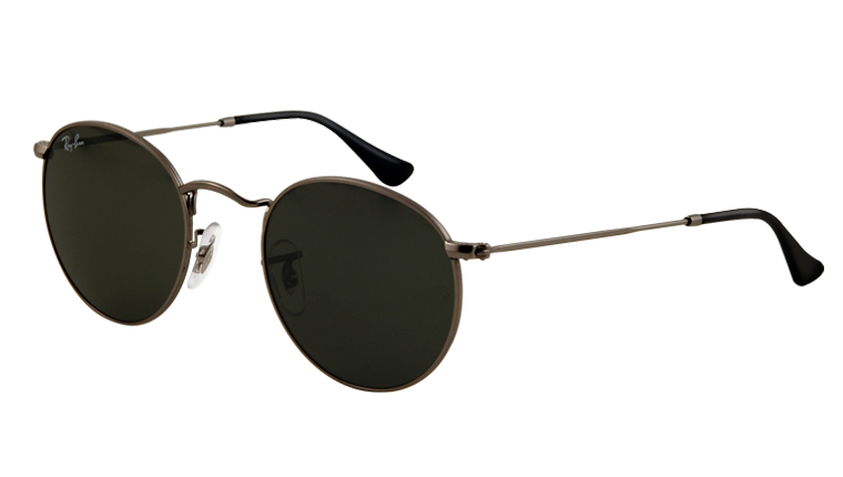 official ray ban  Ban Sunglasses - Collection Sun - RB3447 - 029 - ROUND METAL ...