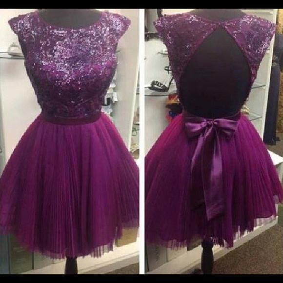 purple dress sparkels jewels