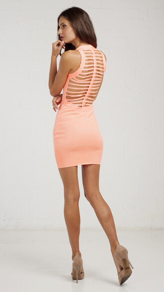 dress pink pink dress coral coral pink