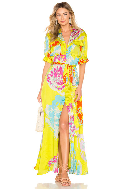 All Things Mochi Prisha Dress in yellow