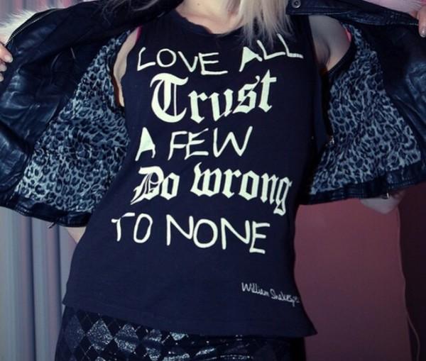 t-shirt black t-shirt