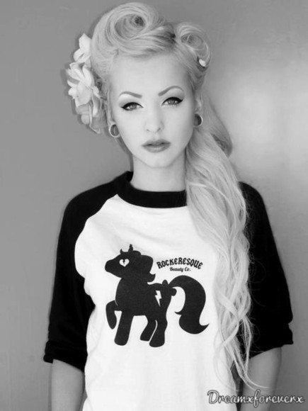 shirt black shirt my little pony raglan tee
