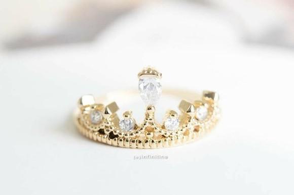 jewels ring crown princess