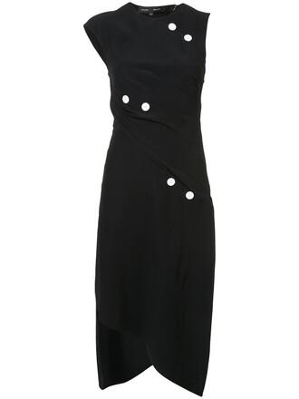 dress studded women spandex black silk