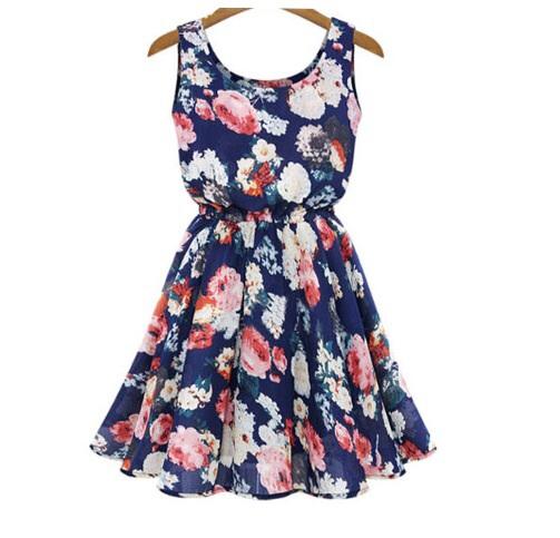 Beautiful sleeveless floral dress
