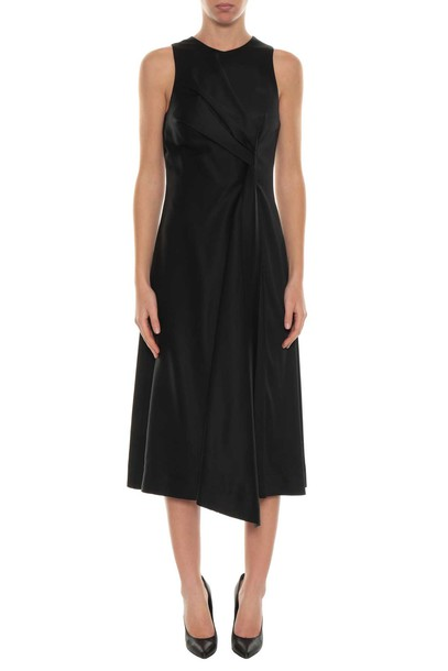 Cédric Charlier dress midi dress midi draped