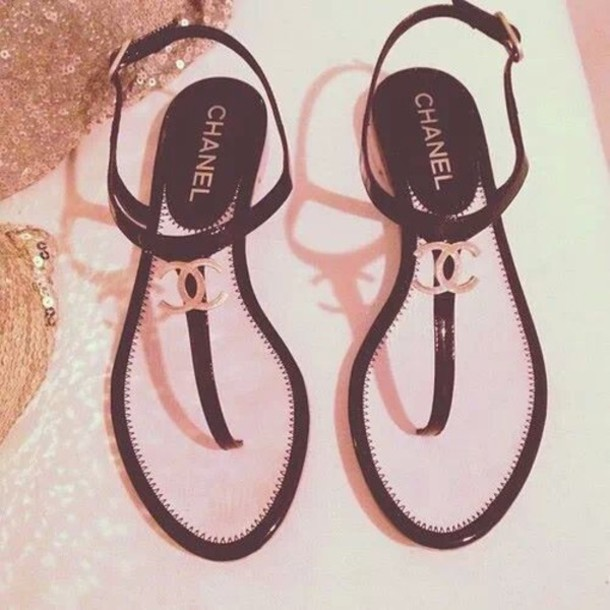 Shoes Chanel Classy Summer Shoes Cc Sandals Sandals