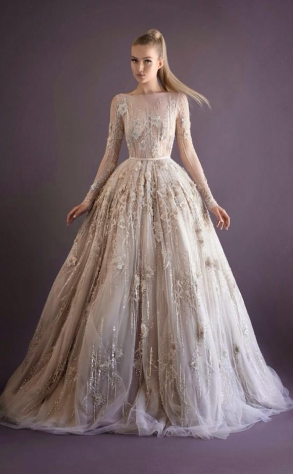 b01118303 wonderful white/beige dress wedding dress princess wedding dresses beige  lovely dress white dress 2014
