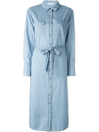 dress shirt dress blue