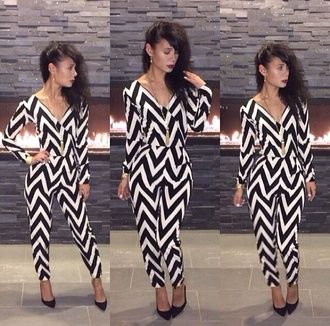 black and white jumpsuit white jumpsuit aztec aztec leggings detailed all in one low v neck dress