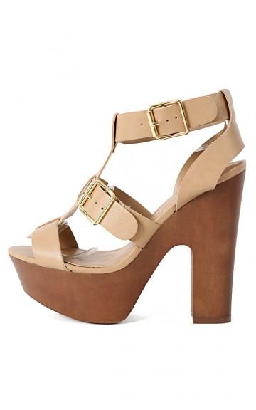 Breckelle's Renee-31 Strappy Buckle Heels | MakeMeChic.com