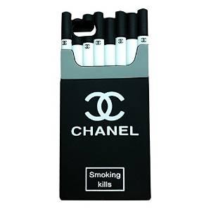 official photos 5c731 e9245 Amazon.com: iPhone 6 Plus Case, DIZA100 Creative 3D Cigarette Smoking Kills  Flexible Soft Silicone Protective Case Fit for Apple iPhone 6S Plus ...