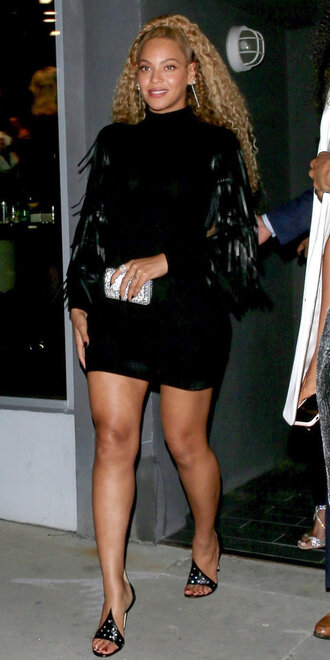shoes sandals mules beyonce celebrity mini dress black dress black little black dress long sleeve dress