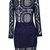 Charmed Life Lace Dress (Navy) – mikivintage