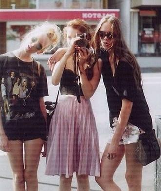 skirt pink skirt midi skirt