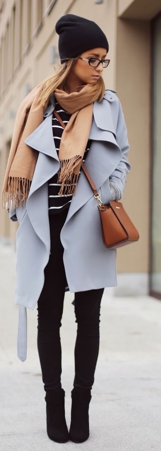 coat long coat violet light blue blue purple coat purple trench coat winter coat blue coat