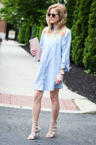 kim tuttle the knotted chain - a style blog by kim tuttle blogger dress shoes bag