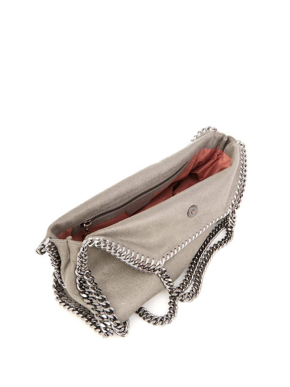 Falabella medium faux-suede shoulder bag | Stella McCartney | ...