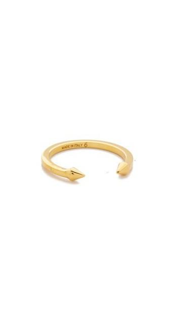 Vita Fede Super Ultra Mini Titan Ring - Gold