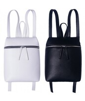 bag,black,white,cool,trendy,fashion,style,backpack,faux leather,back to school,it girl shop