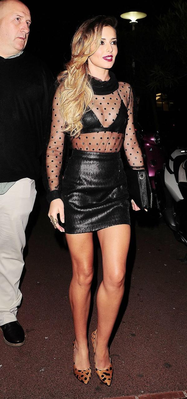 blouse cheryl cole skirt shoes