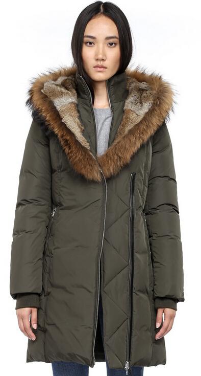 Aliexpress.com : Buy Mackage TRISH F4 Winter Parka Down Coat long ...