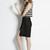 AdelaMei | Mesh Stripe Jersey Crop Top | NTice | Adela Mei