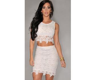 dress two-piece lace dress cut out dress hollow out dress crop tops top ebonylace.storenvy ebony lace ebonylace247 ebonylace-streetfashion