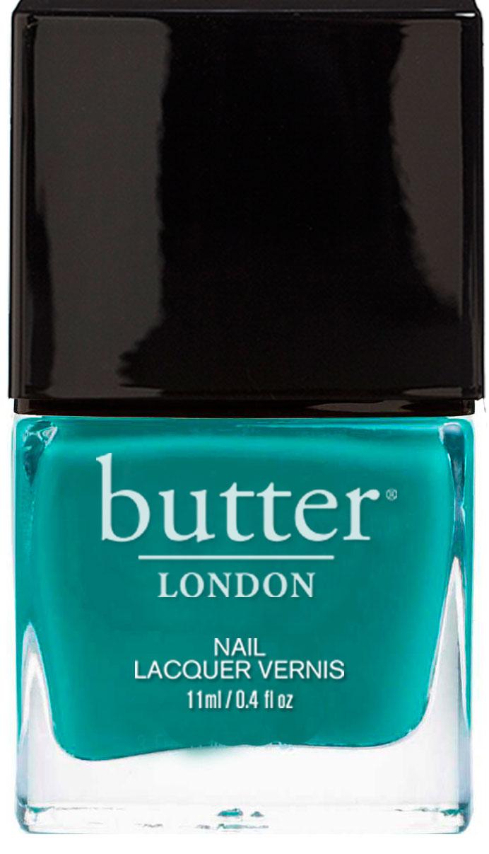 Slapper Nail Lacquer : Bright Teal Nail Polish : butter LONDON