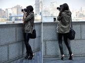 jacket,camouflage,khaki,bag,shoes